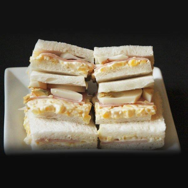 Sandwich Choclo, jamón y huevo 1
