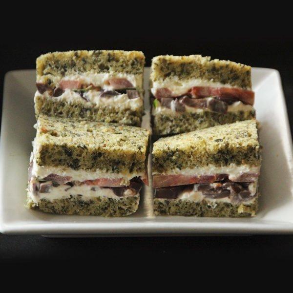 Sandwich Pan Artesanal de Verdura 1