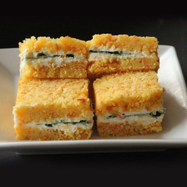 Sandwich Pan Artesanal Zanahoria 1
